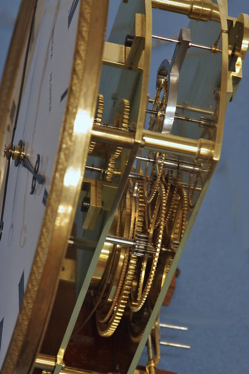 C 1825 Small Viennese 30 Day Lanterdluhr Wall Clock