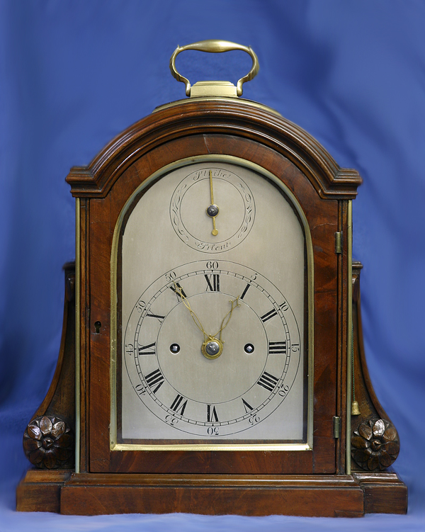 c.1803 Small English Mahogany Bracket clock