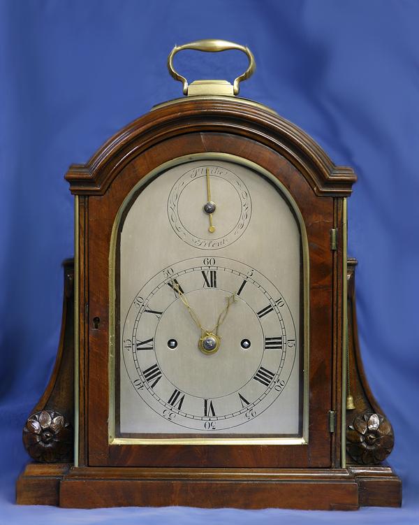 c.1803 Small English Mahogany Bracket clock