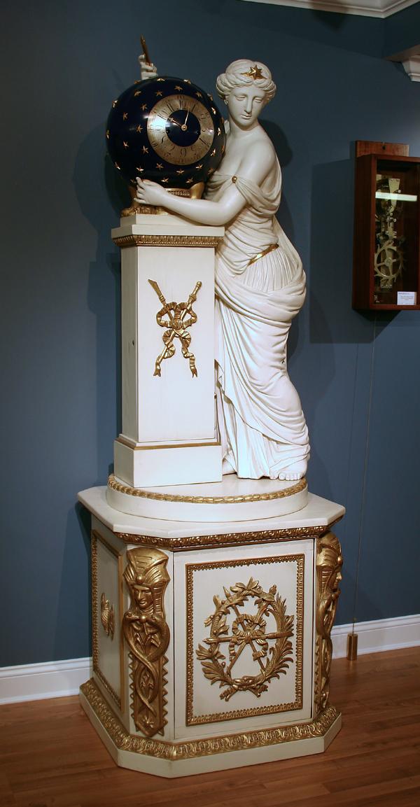 c.1800 Massive Austrian Figural Tallcase Clock, JM Schmit, Wien