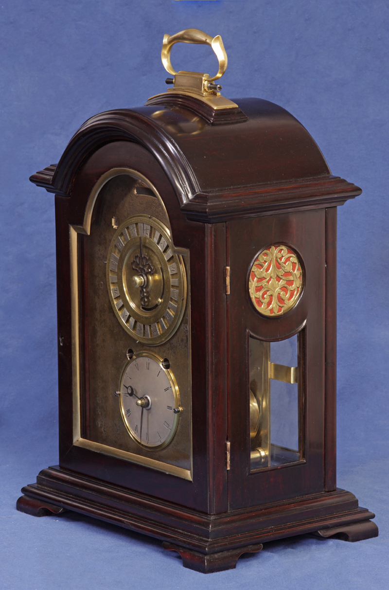 C 1840 Rare Japanese Dual Time Bracket Clock Sundialfarm