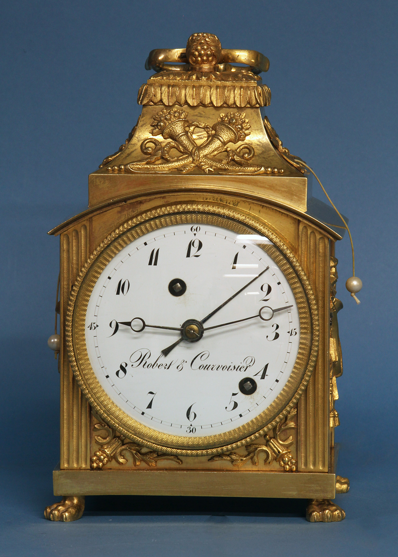 Swiss Pendule d'Officier Clock