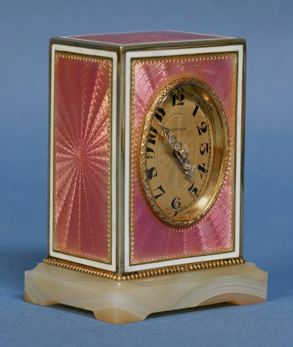Enameled Timepiece by Asprey