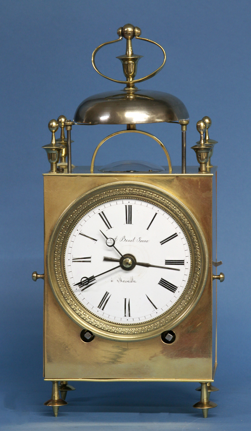 Mid 19th century Capucine Clock