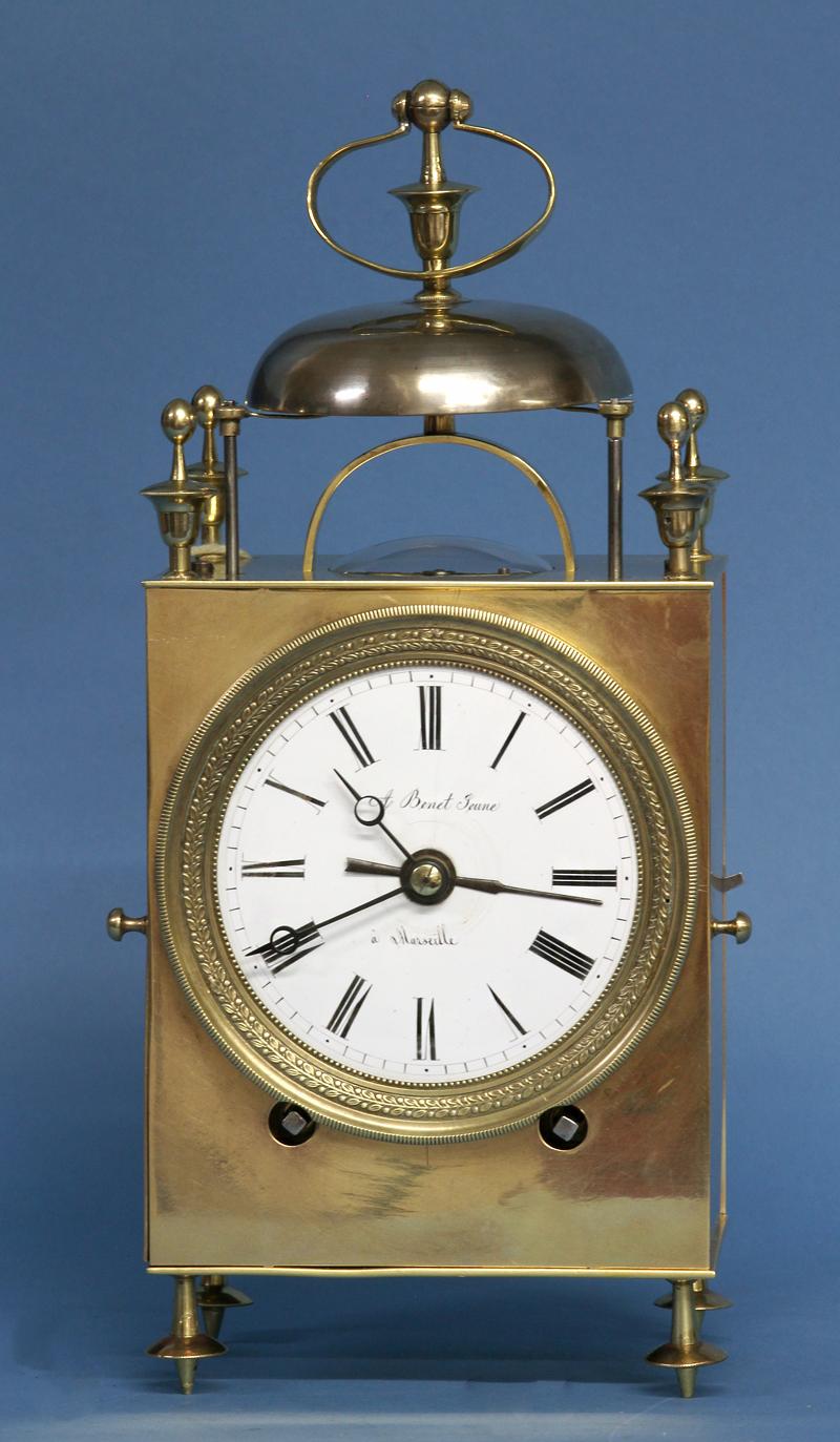 Mid 19th century Capucine Clock