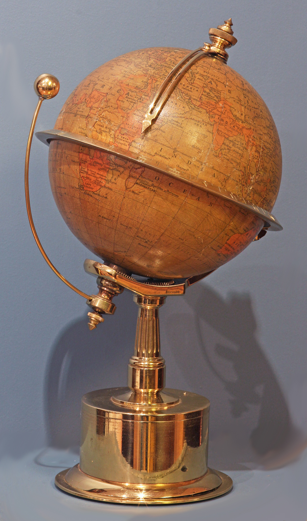 c.1885 World Time Clock