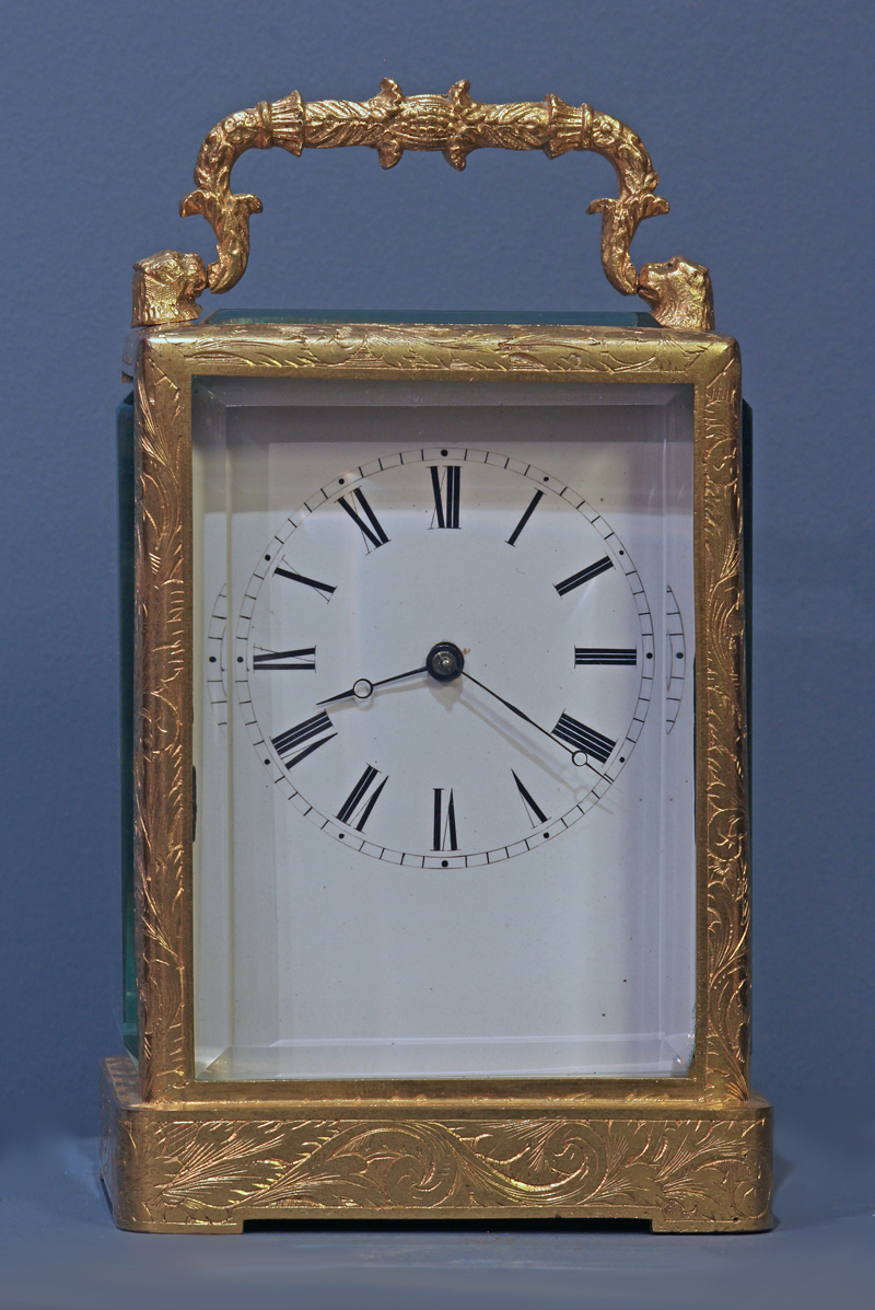 c.1850 French Carriage Clock