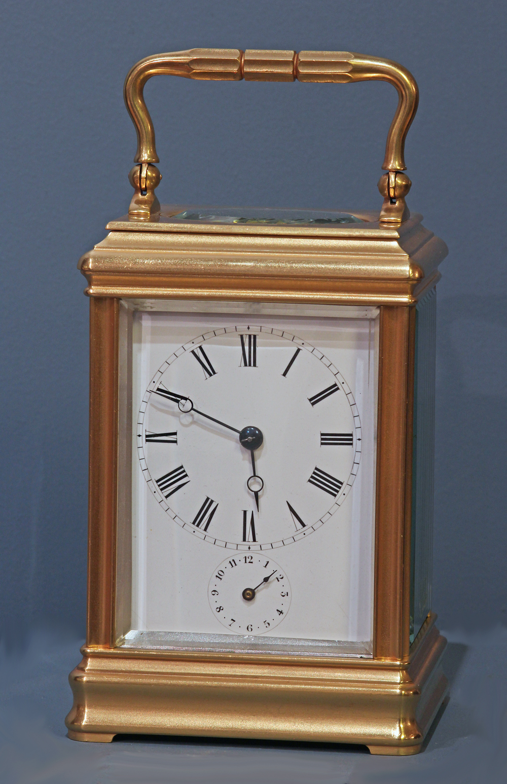 c.1895 French Carriage Clock