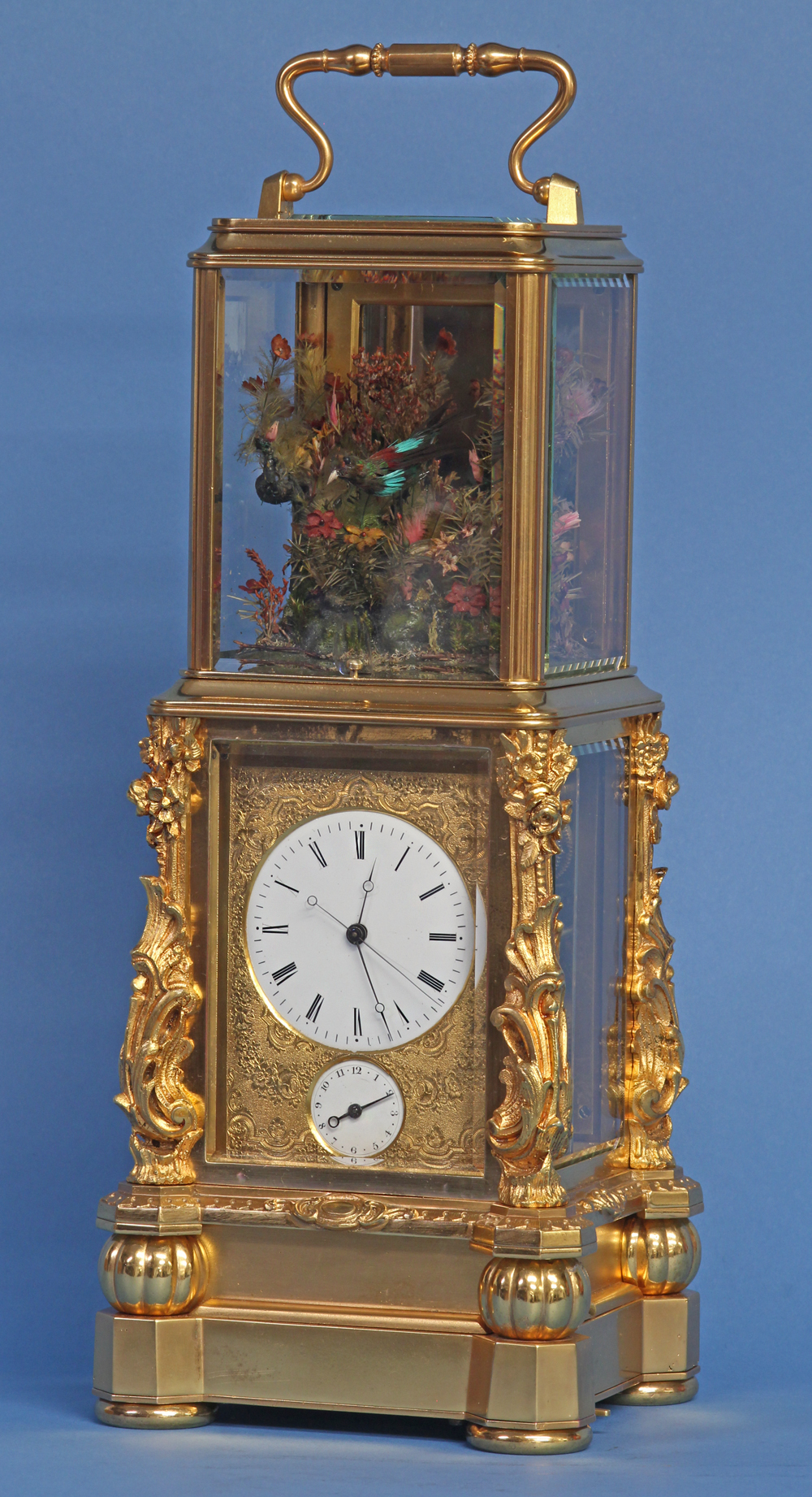 Singing Bird Carriage Clock
