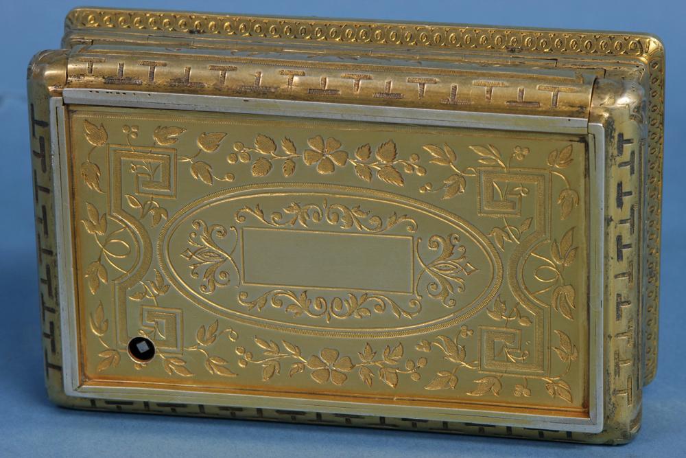 c.1845 Swiss Fusee Singing Bird Box by C. Bruguier, No. 278.
