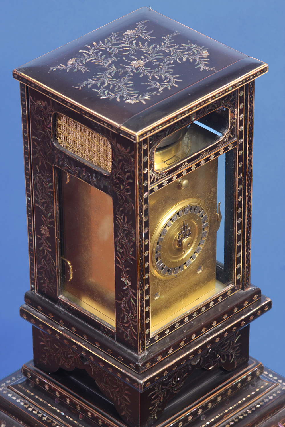 Early 19th century rare Japanese lantern clock.