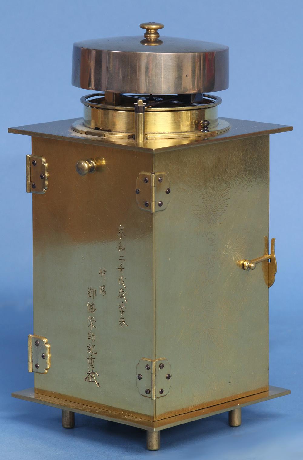 Early 19th Century Rare Japanese Lantern Clock.