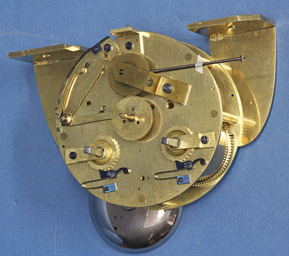 Exhibition Mystery Portico Clock by Robert-Houdin.