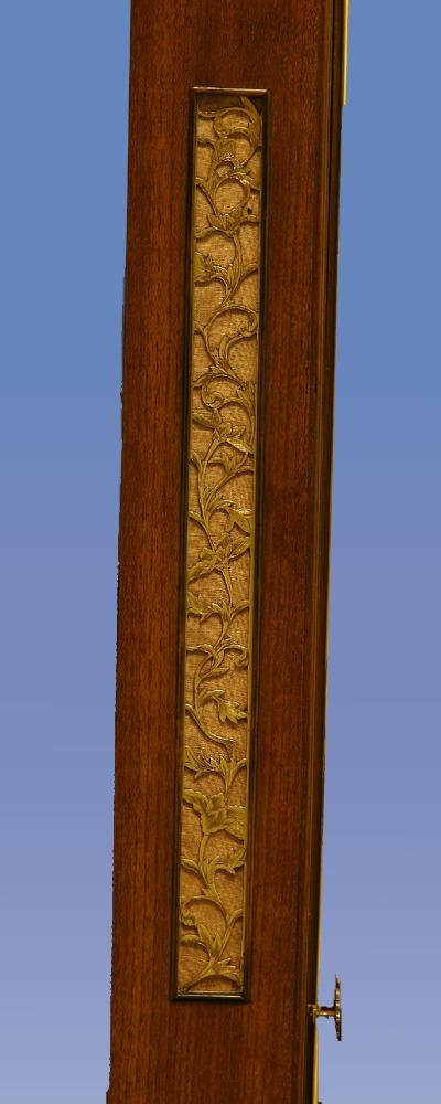 c.1850 Massive Japanese Striking Stick Clock.