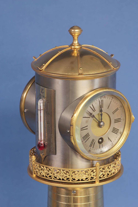French animated lighthouse clock.