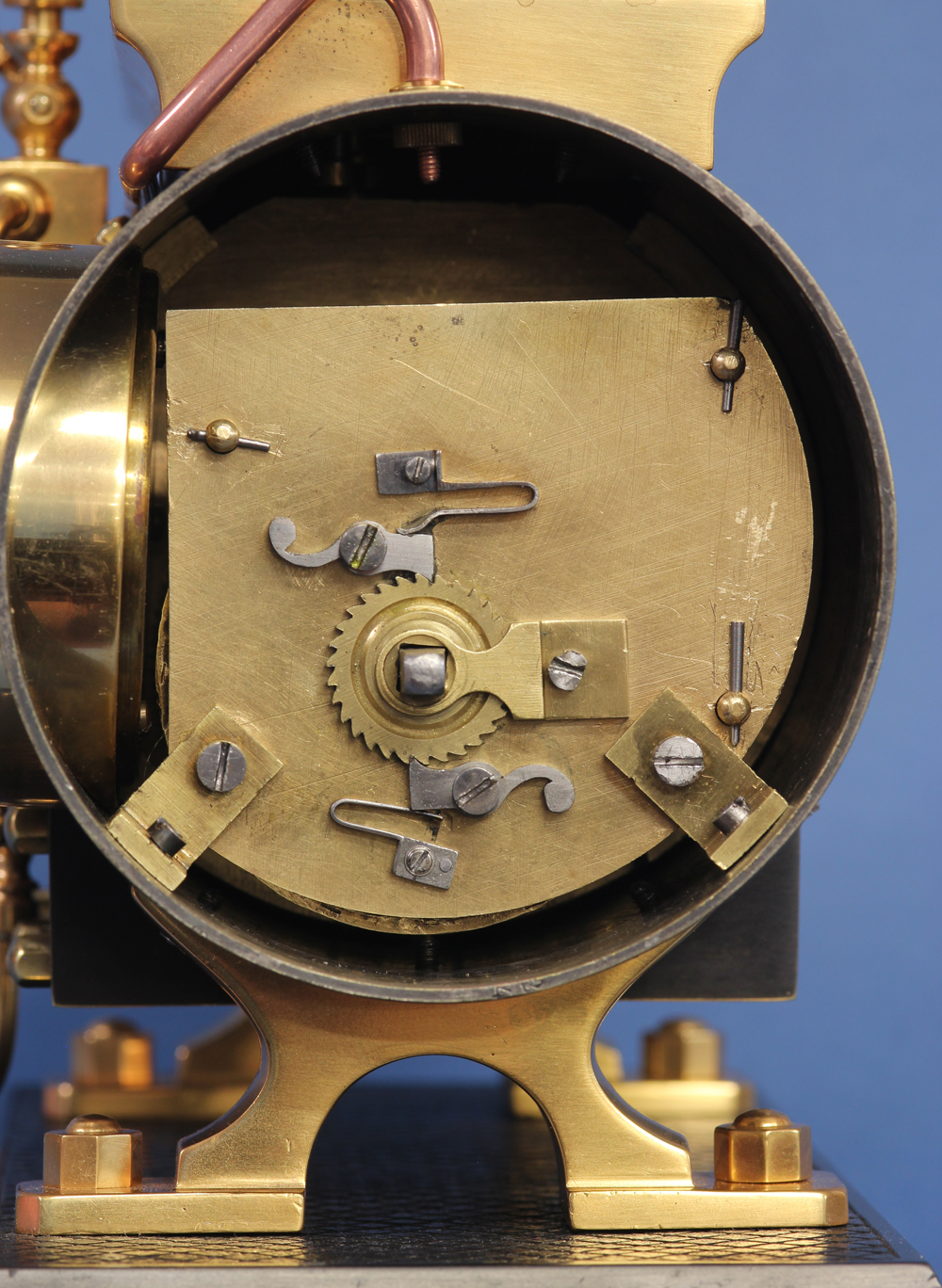 Horizontal Industrial Boiler Clock.